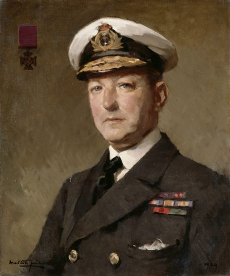 Portrait of Gordon Campbell, painted in 1922 by S Melton Fisher OA