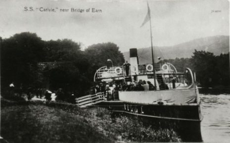 Paddle steamer Firth of Tay