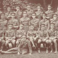 Reid EB North Staffs 1stBn officers 1914