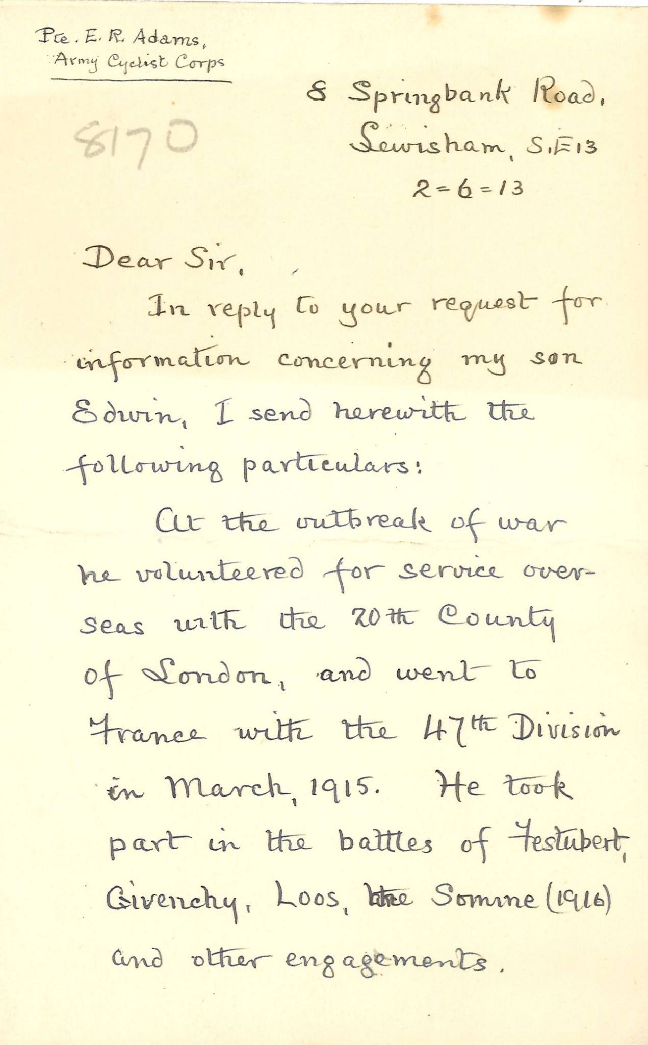 Adams ER Second Father Letter 1