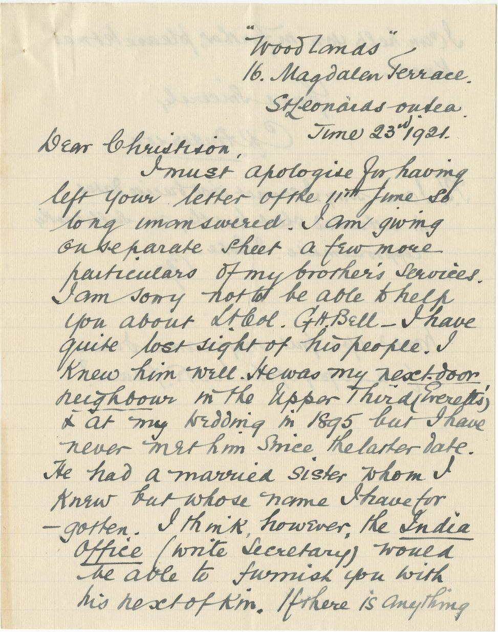 Anderson HL Third Brother Letter 1