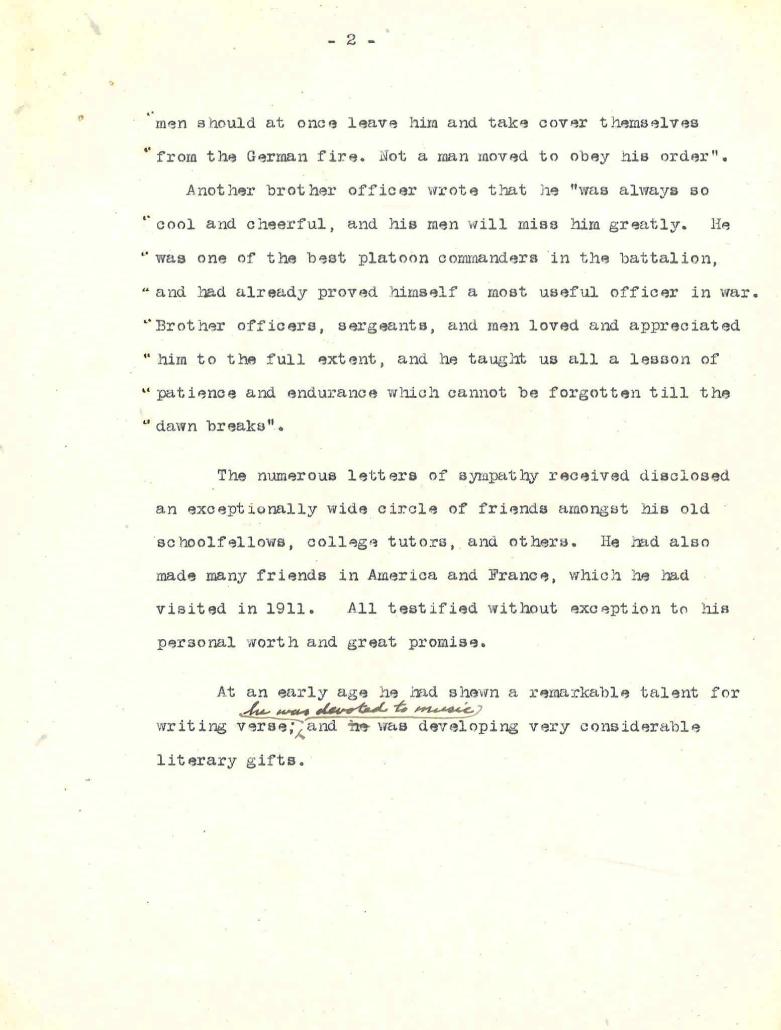 Armstrong HWT Career Description 2