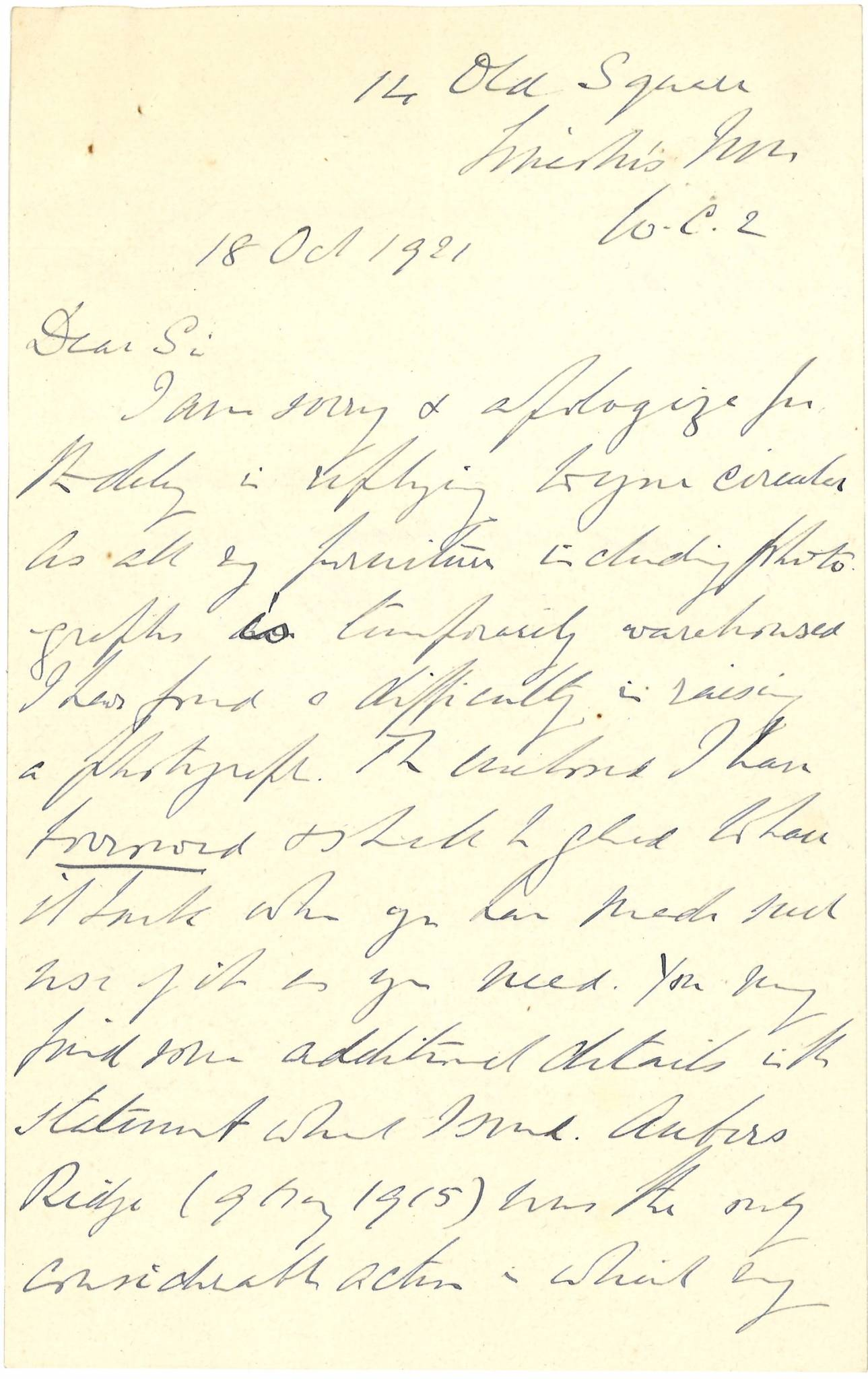Attwater HSt.J Father Letter 1