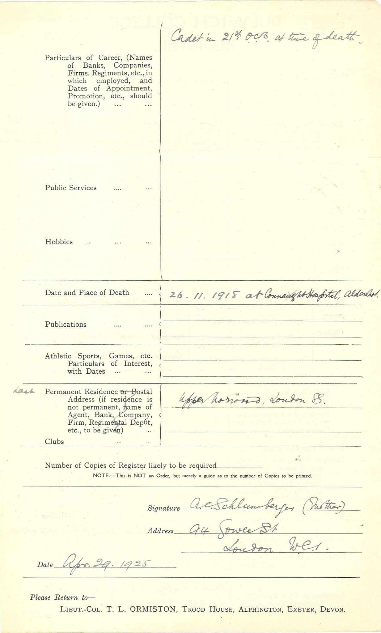 Graham PE Questionnaire 2