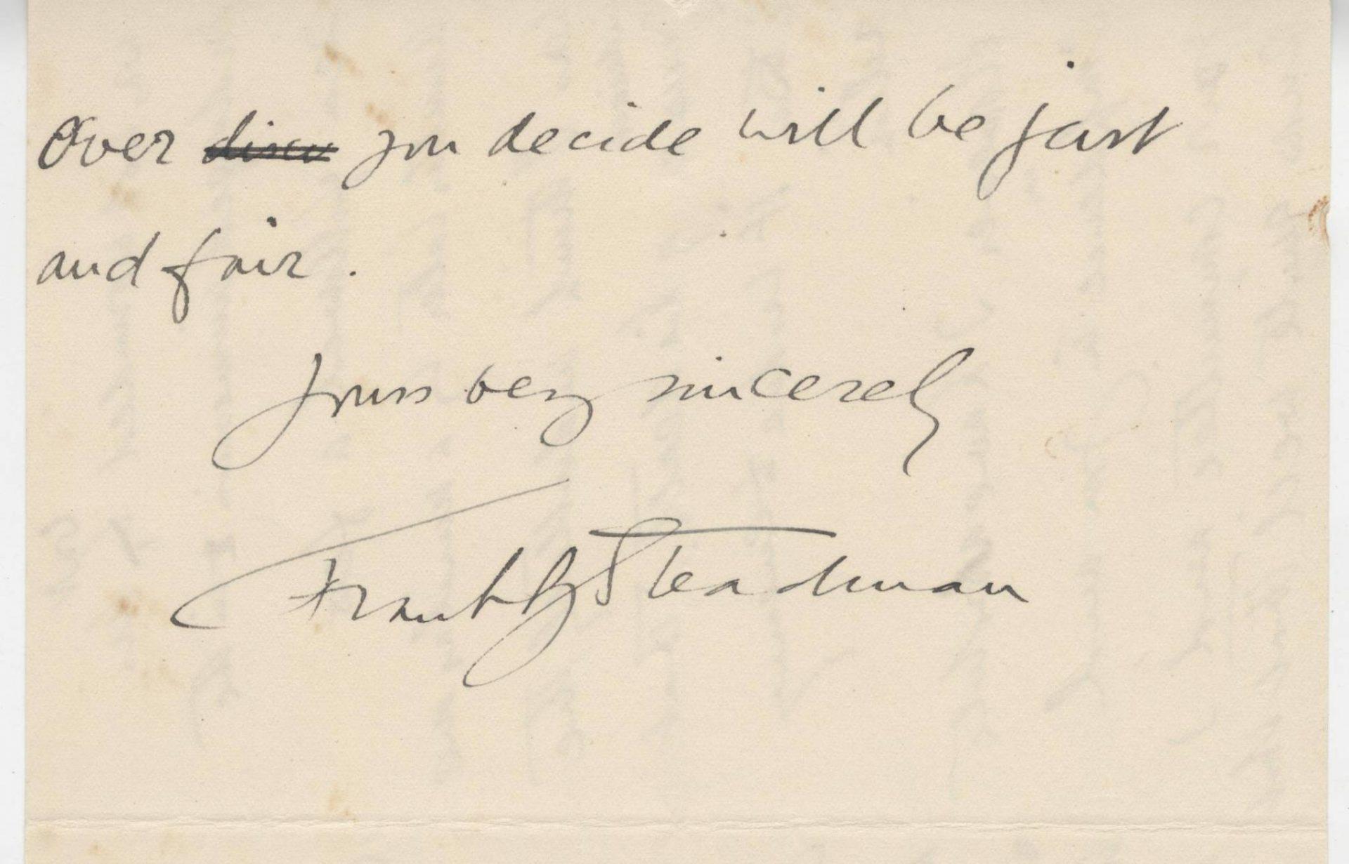 Steadman HLSt.J Sister Letter 2