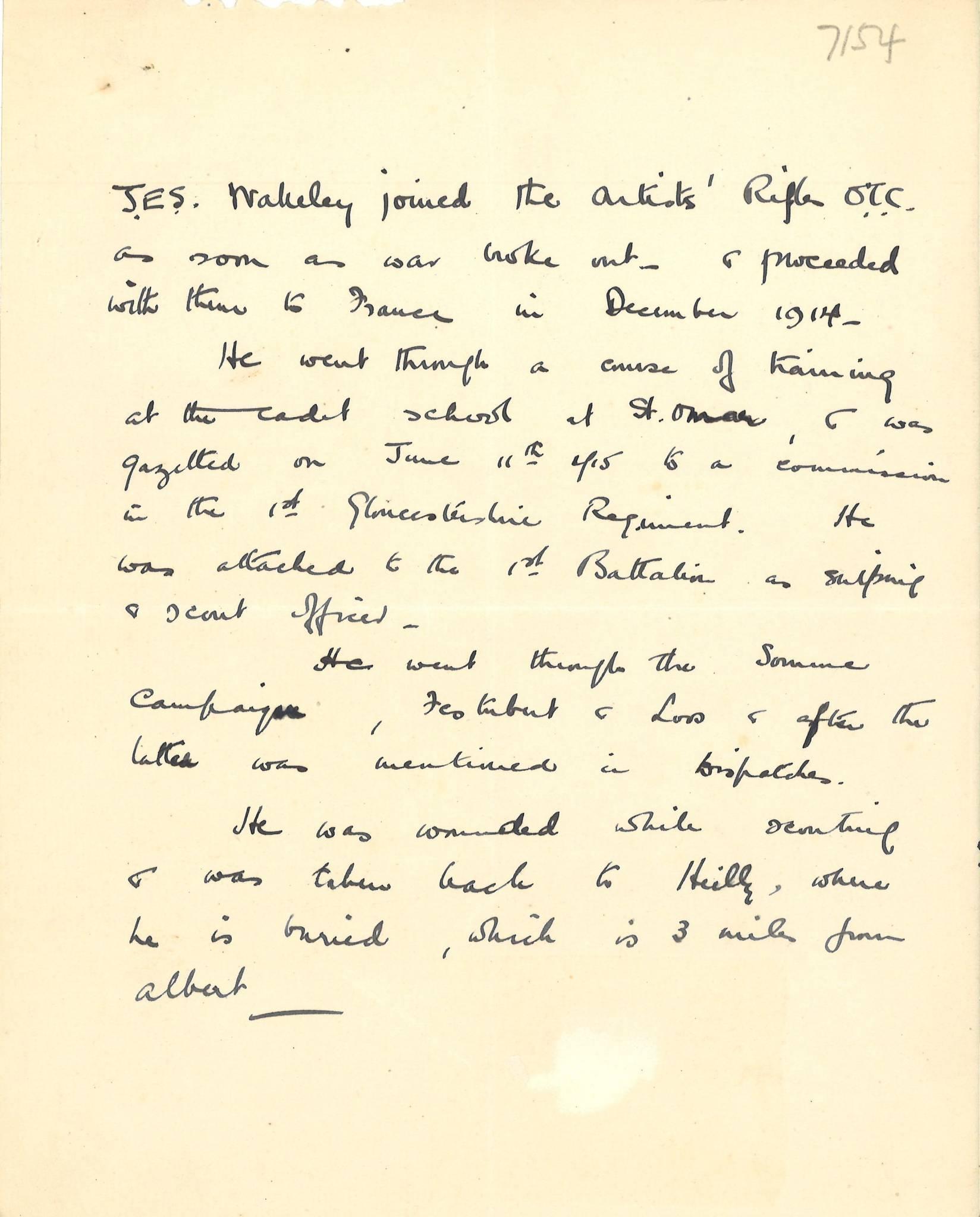 Nunudes Co Uk Jes: Dulwich College 1914-18