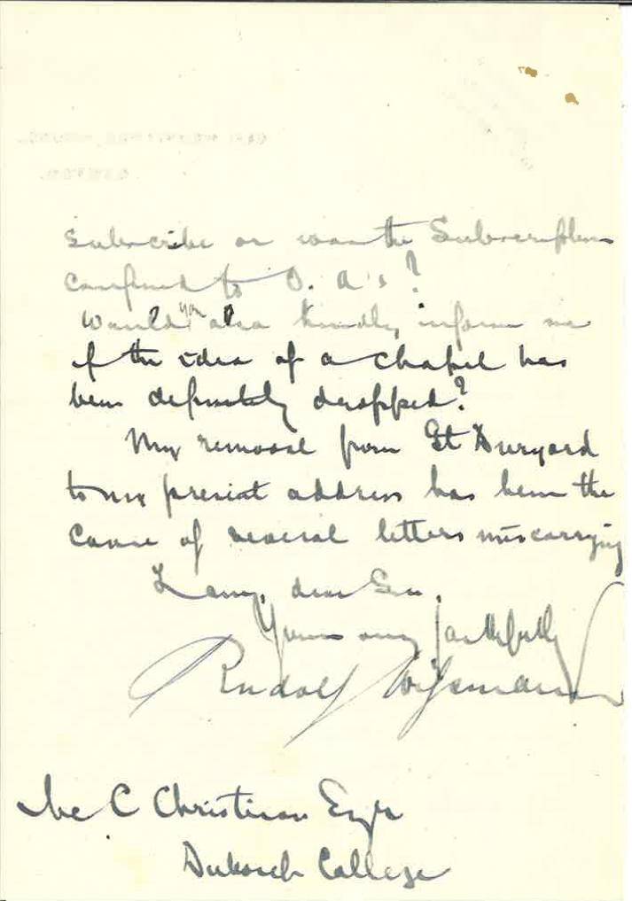 Wissmann JR Father Letter 2