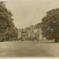 Belair House from lawn 1933
