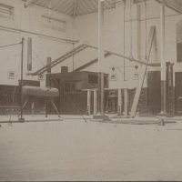 Gymnasium c. 1900
