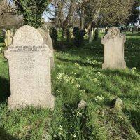 Lt AH Styles grave