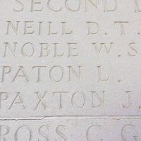 Paton L Memorial
