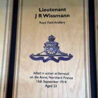 Wissmann JR Dulwich Prep London War Memorial