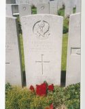 Styles AC headstone. Photo courtesy of the Haines family archive.