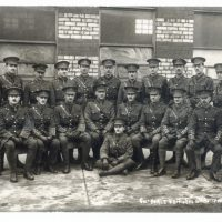 Styles AC with Colonel Earle and other officers. Photo courtesy of the Haines family archive.