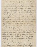 Styles AH letter 3 of 4. Photo courtesy of the Haines family archive.